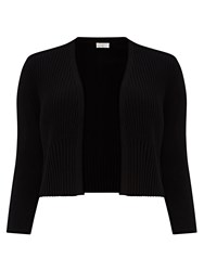 Windsmoor Black Pleated Shrug