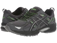 Asics Gel Venture 5 Carbon Silver Green Gecko Men's Running Shoes Black