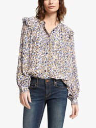 And Or Arlo Ikat Blouse Multi