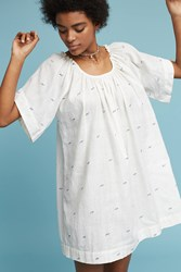 Anthropologie Seville Tunic Neutral Motif