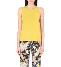 Whistles Cross Back Shell Top Yellow