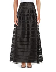 Alex Evenings Striped Maxi Skirt