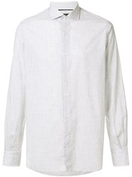 Orian Checked Shirt White