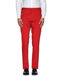 Gucci Trousers Casual Trousers Men Red