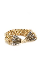Lulu Frost Brigitte Bracelet Antique Gold Antique Silver