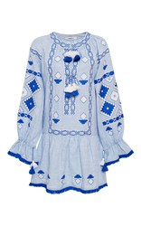 March11 Sky Sasha Mini Dress Light Blue