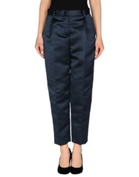Msgm Casual Pants Dark Blue
