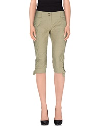 Ermanno Scervino 3 4 Length Shorts Military Green