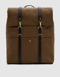 Mismo M S Backpack In Khaki Black Khaki Black