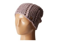 The North Face Chunky Knit Beanie Quail Grey Beanies Pink