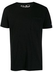 Mc2 Saint Barth Chest Pocket T Shirt Black