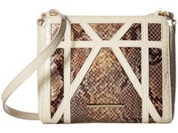 Brahmin Carrie Crossbody Gold Cross Body Handbags