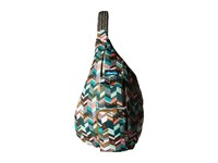 Kavu Rope Sling Coastal Blocks Backpack Bags Multi