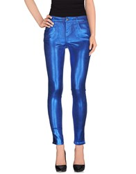 Guess By Marciano Denim Denim Trousers Women Dark Blue