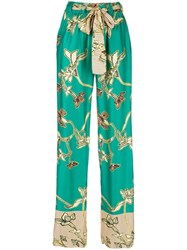 Alexis Palazzo Trousers Green
