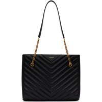 Saint Laurent Black Medium Tribeca Tote