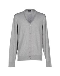 Hackett Knitwear Cardigans Men Light Grey