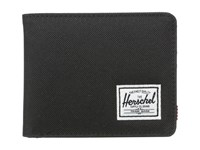 Herschel Roy Black Bi Fold Wallet