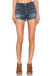 A Gold E Jaden High Rise Cut Off Short Starwood Distressed
