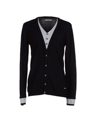 Gaudi' Knitwear Cardigans Men Black