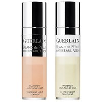 Guerlain Blanc De Perle White P.E.A.R.L. Fusion Whitening Day And Night Treatment