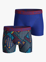 Bjorn Borg Louvre Trunks Pack Of 2 Multi