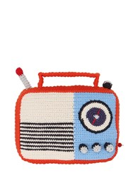 Anne Claire Hand Crochet Radio With Music Box