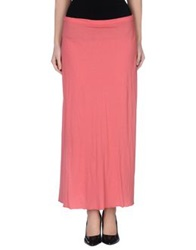 Tanomu Ask Me Long Skirts Coral