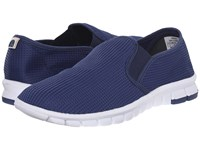 Nosox Wino Navy White Men's Slip On Shoes Blue