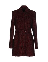 Strenesse Coats Brick Red