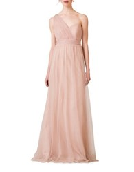 Jenny Yoo Annabelle Tulle Convertible Dress Cameo Pink