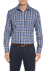 Peter Millar Men's Pacific Regular Fit Plaid Sport Shirt