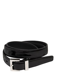 Saint Laurent 20Mm Patent Leather Belt