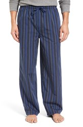 Nordstrom Men's Big And Tall Men's Shop Woven Lounge Pants Black Navy Stripe
