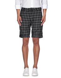 Publish Trousers Bermuda Shorts Men Black