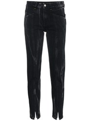Givenchy Marble Slim Fit Jeans Black