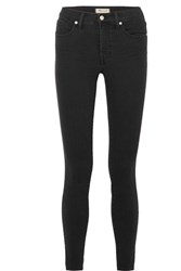 Madewell High Rise Skinny Jeans Black Gbp