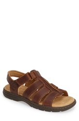 Timberland Earthkeepers 'Altamont' Fisherman Sandal Men Brown Full Grain