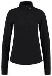 Under Armour Charged Long Sleeved Top Black Reflective