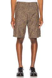 Levi's Premium Hi Ball Cargo Short Patchy Cheetah