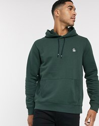 Original Penguin Icon Logo Hoodie In Green