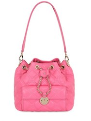 Metrocity Small Quilted Leather Bucket Bag