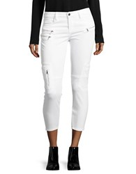 Blank Nyc Cropped Cargo Pants White