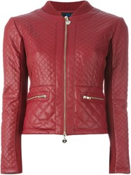Twin Set Padded Detailed Jacket Red