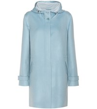 Loro Piana Cashmere Coat Blue