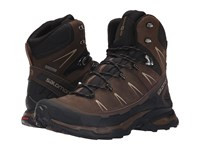 Salomon X Ultra Trek Gtx Absolute Brown X Black Navajo Men's Shoes