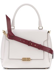 Anya Hindmarch Small Bathur Tote Women Calf Leather One Size Grey