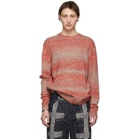 Acne Studios Red Striped Sweater