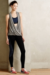 Pure Good Draped Shirttail Tank Grey