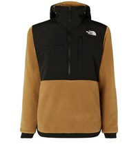 The North Face Denali Panelled Fleece And Shell Anorak Brown